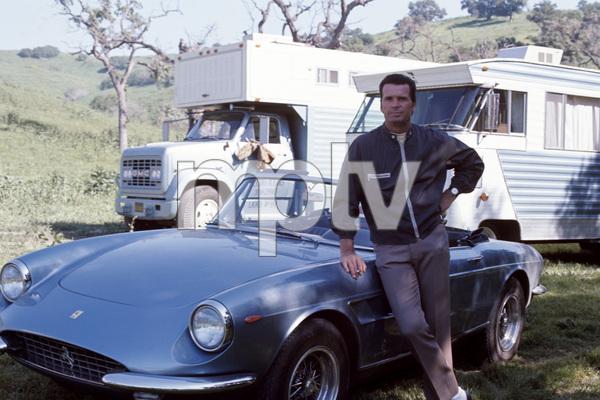 James Garner and his Ferrari 330 GTScirca 1967** J.C.C. - Image 0037_0843