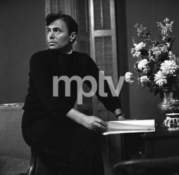 James Mason at NBC Studios in Hollywood, California1955 © 1978 Sid Avery - Image 0038_0001