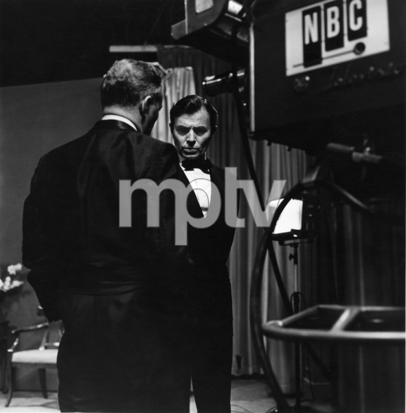 James Mason at NBC Studios in Hollywood, California1955 © 1978 Sid Avery - Image 0038_0002