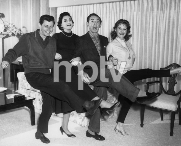 Eddie Cantor and Eddie Fishercirca 1950sPhoto by Gabi Rona - Image 0052_0026