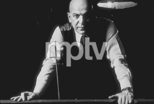 Telly Savalas, 1975. © 1978 Sid Avery MPTV - Image 0061_0659