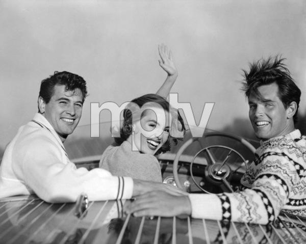 Rock Hudson, Barbara Rush and Jeffrey Hunter 1954** I.V./M.T. - Image 0067_1134
