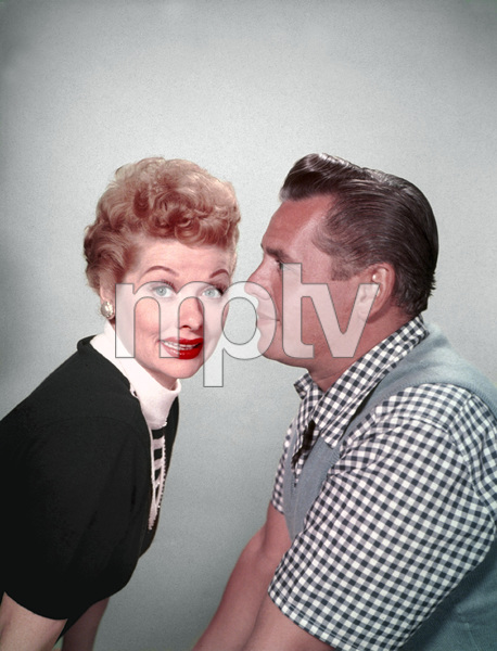 Lucille Ball and Desi Arnaz1954 © 1978 Wallace Seawell - Image 0069_2059
