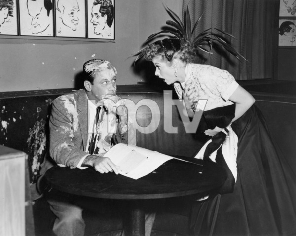 William holden and lucille ball in i love lucy episode l a