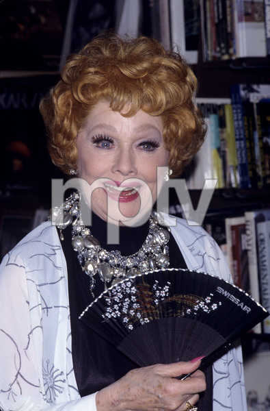Lucille BallSeptember1, 1987© 1987 Gary Lewis - Image 0069_2197