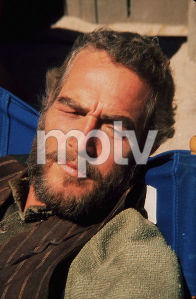 """Paul Newman in """"The Life and Times ofJudge Roy Bean,"""" 1972. © 1978 Wallace Seawell - Image 0070_2302"""