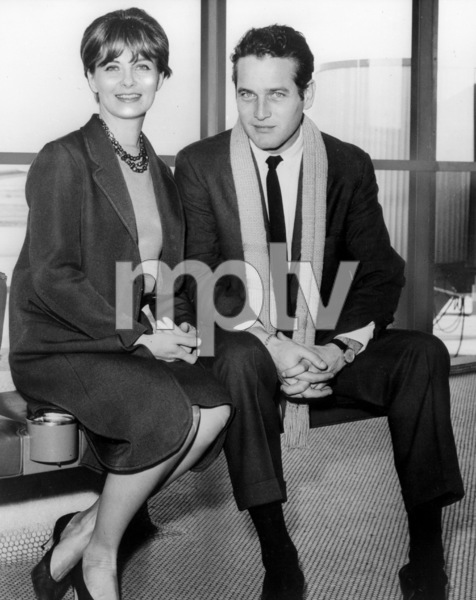Paul Newman with wife Joanne Woodward1963 - Image 0070_2366