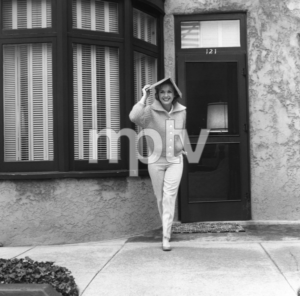 """Debbie Reynolds on the Paramount lot during the filming of """"The Pleasure of His Company""""1960 © 1978 Sid Avery - Image 0071_0016"""