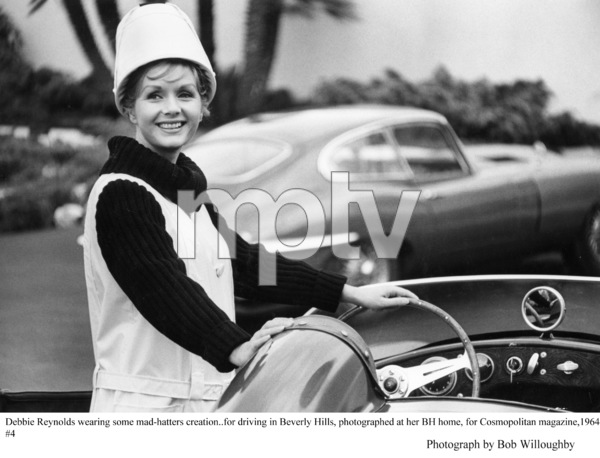 Debbie Reynolds at her Beverly Hills Home photographed for Cosmopolitan 1964 © 1978 Bob Willoughby - Image 0071_1060