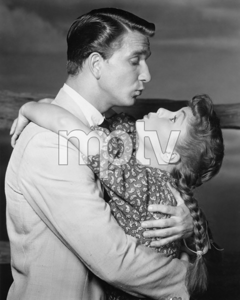 "Leslie Nielsen and Debbie Reynolds in ""Tammy and the Bachelor""1957 Universal** I.V./M.T. - Image 0071_1134"
