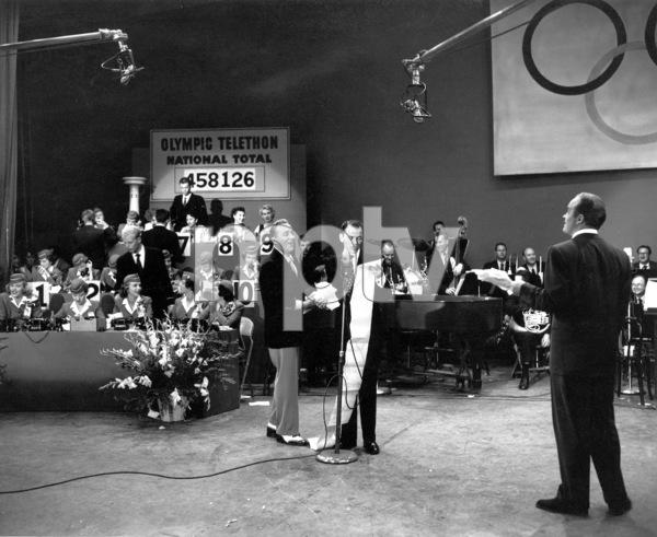 Bing Crosby, Frank Sinatra, Bob HopeFirst TV Appearance / CBSOlympic Telethon (1952)Photo by Gabi Rona - Image 0073_2009