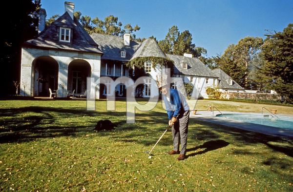 Bing Crosby at home1966 © 1978 Bob Willoughby - Image 0073_2022