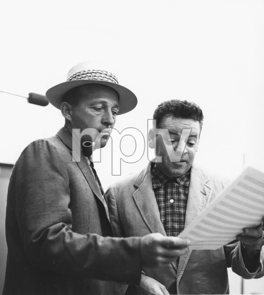 Bing Crosby, Les Brownc. 1962Photo by Gerald Smith - Image 0073_2086