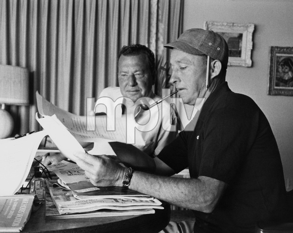 Bing Crosby at his Palm Springs home with Phil Harriscirca 1962 © 1978 Sanford Roth - Image 0073_2105