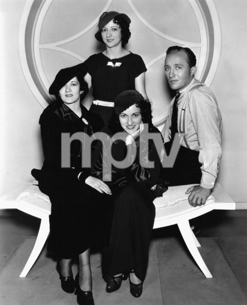 The Boswell Sisters (Connee, Martha and Vet) with Bing Crosby 1934** I.V. - Image 0073_2109