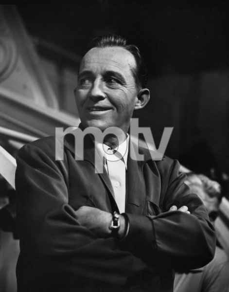 """Bing Crosby on the Paramount set of """"Anything Goes""""04-27-1955© 1978 Sid Avery - Image 0073_2110"""