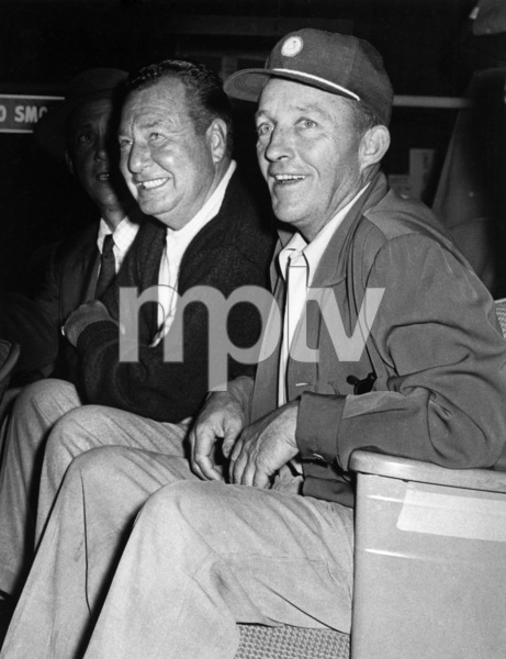 "Bing Crosby and Phil Harris on ""The Edsel Show""1957Photo by Gabi Rona - Image 0073_2119"