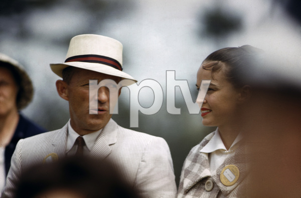 Bing Crosby and wife Kathryn Grant1960© 1978 Gunther - Image 0073_2125