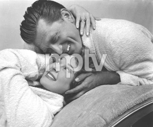 "Kirk Douglas & Susan Haywardwhile filming ""Top Secret Affair""1957 Warner Bros. - Image 0075_0029"