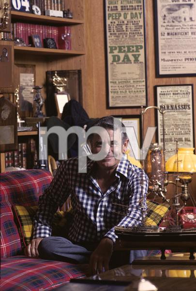Glenn Ford at home1975 © 1978 Gene Trindl - Image 0079_1022