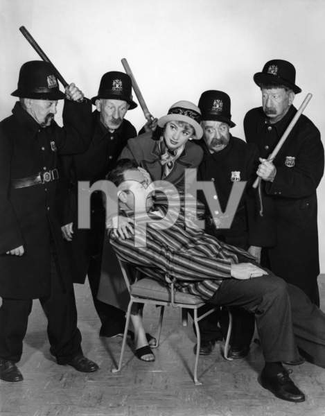 """The Red Skelton Show""Red Skelton, Shirley Jones and the original Keystone Kops1954Photo by Gabi Rona - Image 0081_0062"