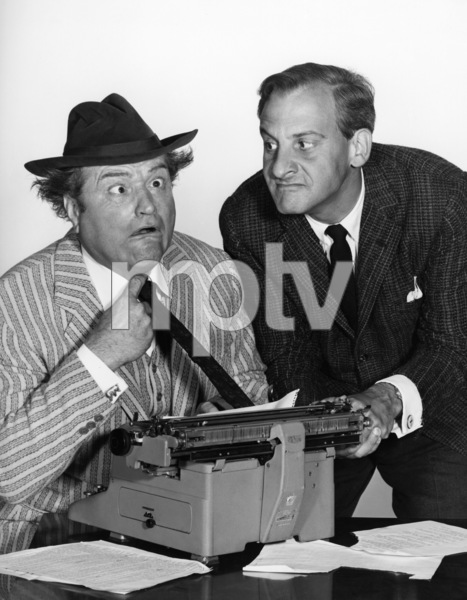 """""""The Red Skelton Show""""Red Skelton, Hans Conriedcirca 1955Photo by Gabi Rona - Image 0081_2021"""