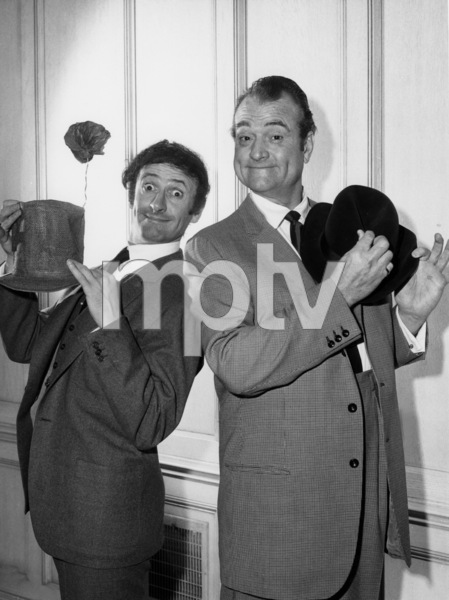 """""""The Red Skelton Show""""Red Skelton, Marcel Marceau1953Photo by Gabi Rona - Image 0081_2029"""