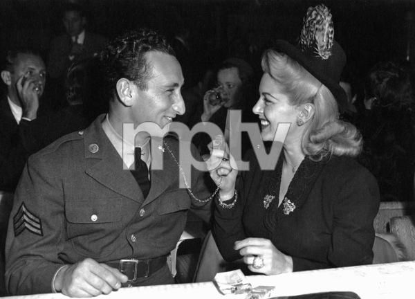 Sid Avery and Lana Turner at Ciro