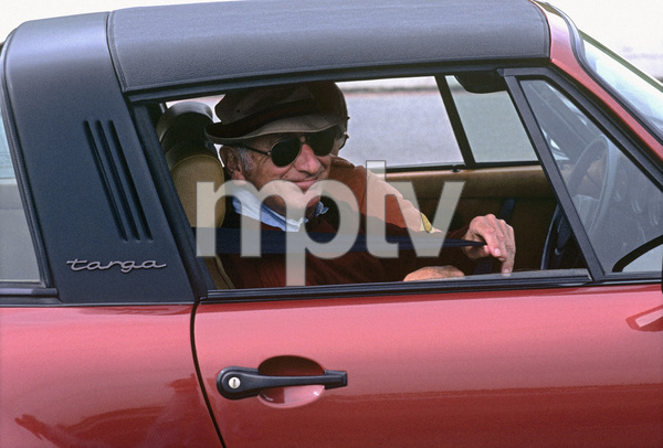 Sid Avery in his 1978 Porsche 911 SC at the Bondurant Driving School in Sonoma, California1981© 1981 Ron Avery - Image 0090_1066