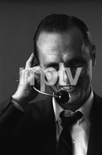 Bob Newhart enacting his telephone operator routine 1961 © 1978 Sid Avery - Image 0092_3027