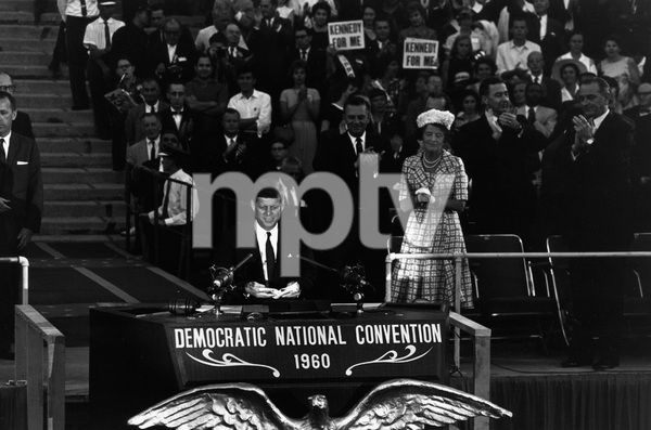 John F. Kennedy, Rose Kennedy and Lyndon B. Johnson at the Democratic National Convention 1960 © 1978 Bruce McBroom - Image 0135_0011