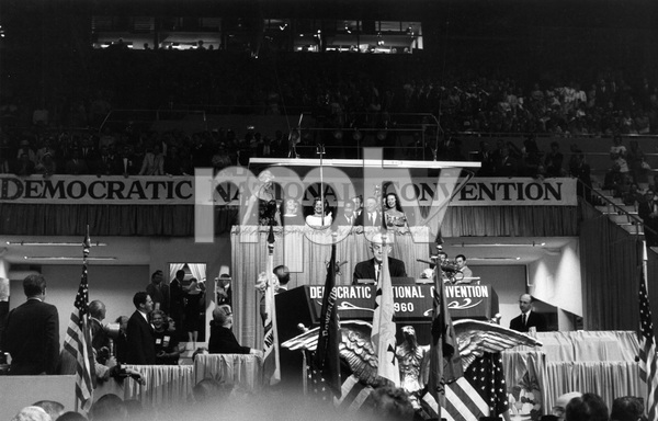 Janet Leigh, Sammy Davis Jr. and George E. Jessel at the Democratic National Convention1960 © 1978 Bernie Abramson - Image 0135_0040