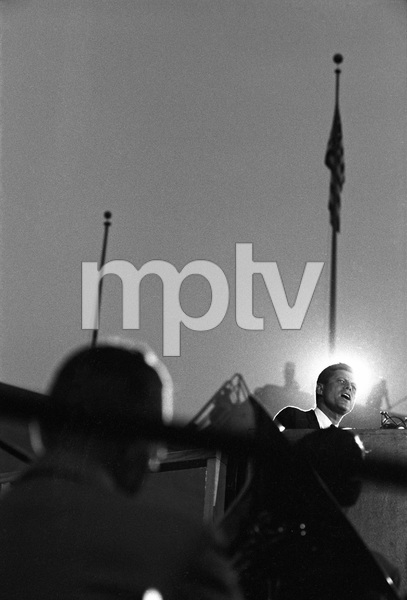 John F. Kennedy speaking at the 1960 Democratic National Convention © 1978 Bernie Abramson - Image 0135_0047