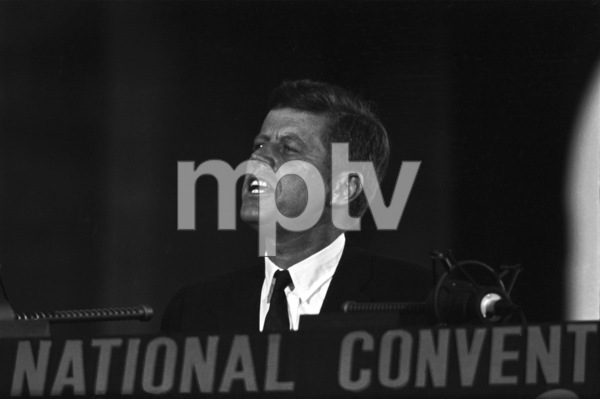 """""""The Democratic National Convention""""John F. Kennedy1960 © 1978 Lou Jacobs Jr. - Image 0135_0059"""