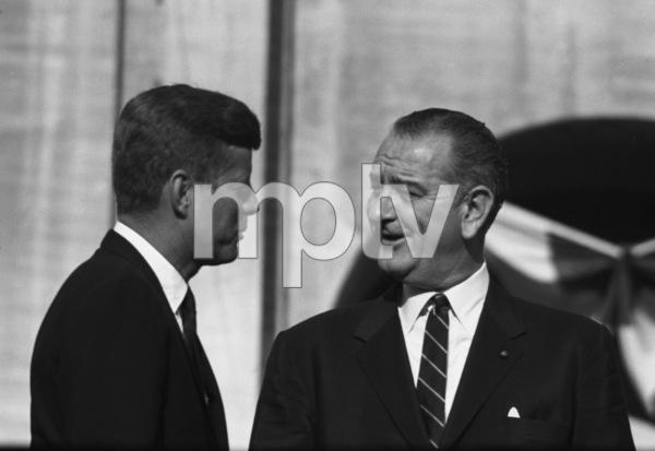 """The Democratic National Convention""John F. Kennedy, Lyndon B. Johnson1960 © 1978 Lou Jacobs Jr. - Image 0135_0063"