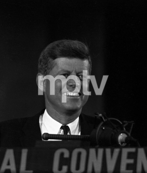 """The Democratic National Convention""John F. Kennedy1960 © 1978 Lou Jacobs Jr. - Image 0135_0065"