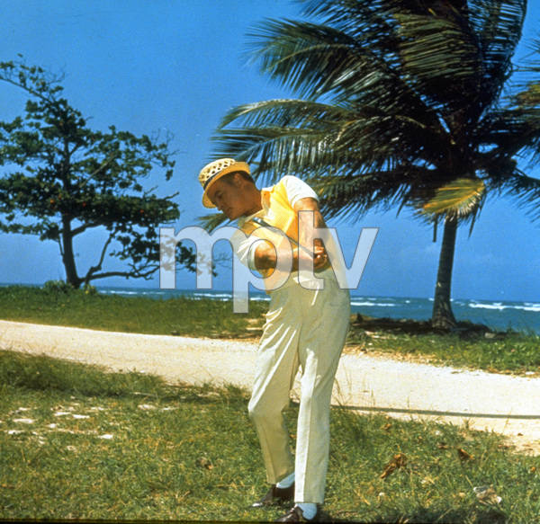 Bob Hope playing golfC. 1960 © 1978 Bud Fraker - Image 0173_0430