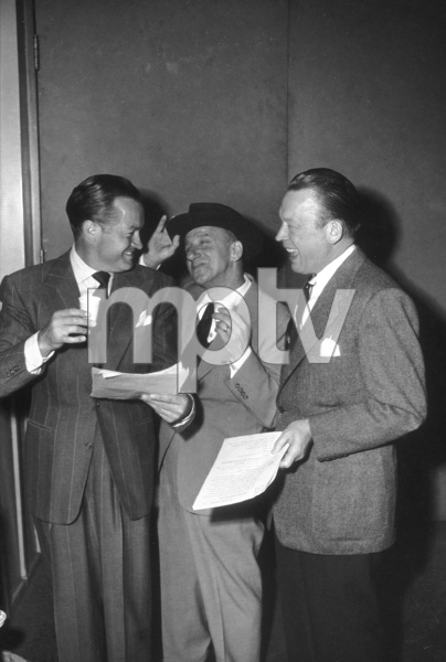 Bob Hope with Jimmy Durante and Fred AllenC. 1942 - Image 0173_0432