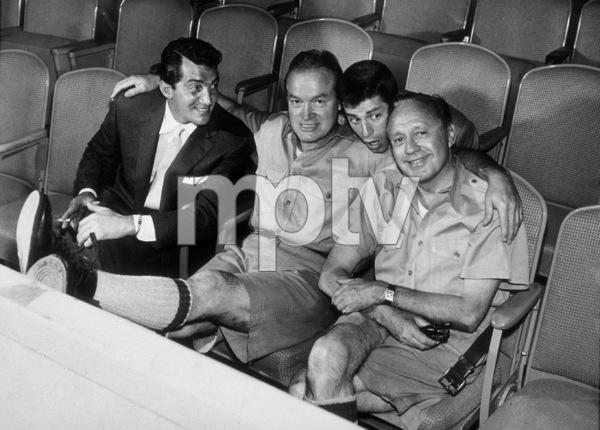 Bob Hope, Dean Martin, Jerry Lewis and Jack Benny1955 CBS © 1978 Gabi Rona - Image 0173_0447