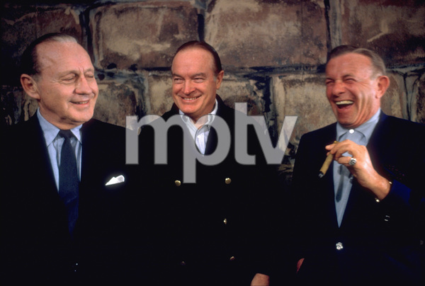 Bob Hope with Jack Benny and George burns1965 © 1978 Bob Willoughby - Image 0173_0461