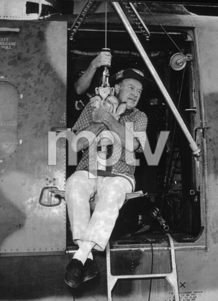 Bob Hope during a U.S.O. Tour in SoutheastAsia1966Photo By Gerald SmithMPTV - Image 0173_0487