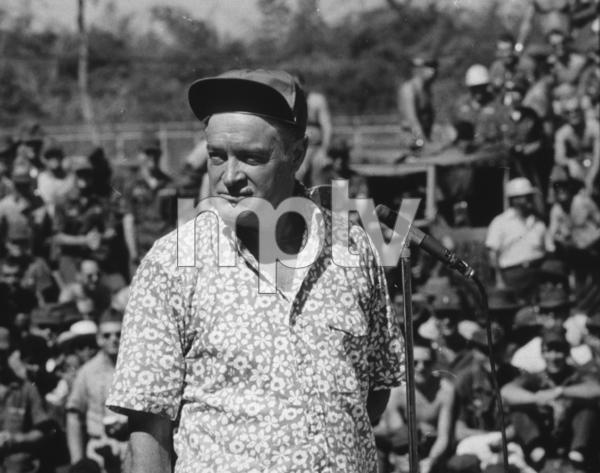 Bob Hope during a U.S.O. tour in SoutheastAsia1966Photo By Gerald SmithMPTV - Image 0173_0488