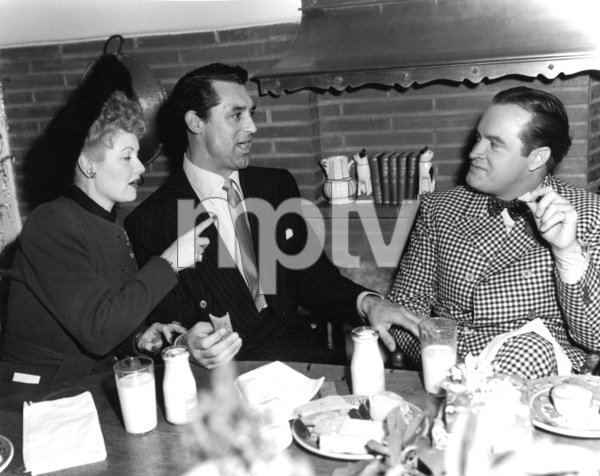 Bob Hope with Lucille Ball and Cary Grant,12/23/43/.**I.V. - Image 0173_0543