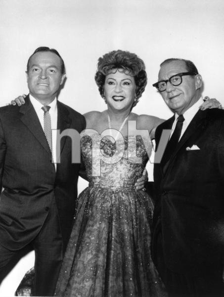Bob Hope with Ethel Merman and Jack Benny,c. 1958. - Image 0173_0551