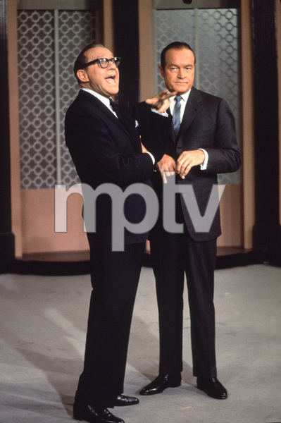 Bob Hope with Jack Benny, c. 1958.**I.V. - Image 0173_0561