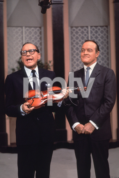 Bob Hope with Jack Benny, c. 1958.**I.V. - Image 0173_0563