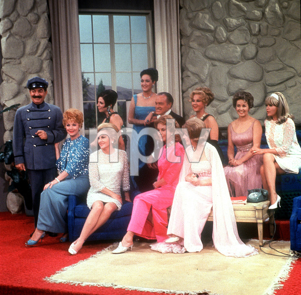 Bob Hope with his leading ladies including Dorothy Lamour, Lucille Ball, and Joan Collins, c. 1966.**I.V. - Image 0173_0577