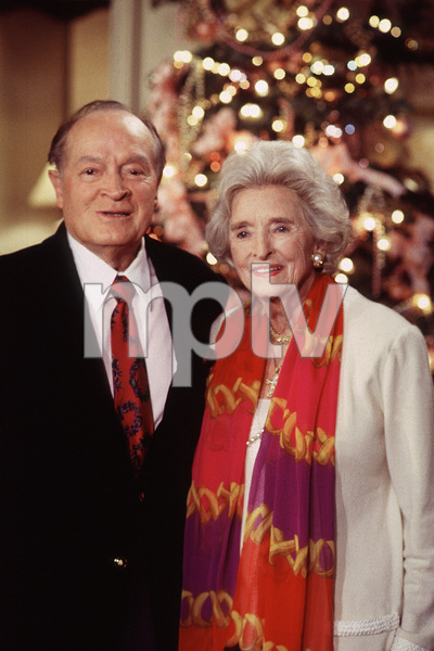 Bob Hope with his wife Dolores, c. 1990