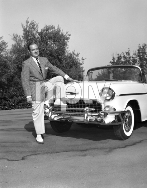 Bob Hope with his Chevy, 1955.**I.V. - Image 0173_0590