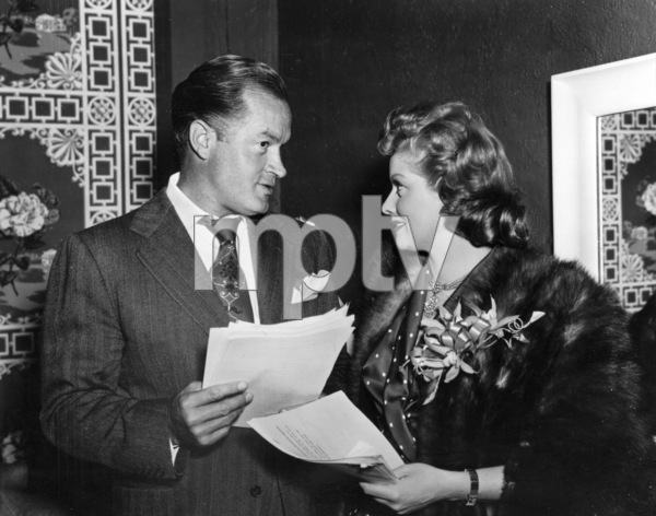 Bob Hope with Lucille Ball at a Christmas Party,12-23-43.**I.V. - Image 0173_0593